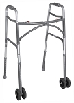Bariatric Aluminum Folding Walker, Two Button (1/Each)