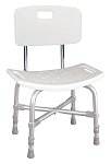 Bariatric Bath Bench with Back, Knock Down (1/Each)