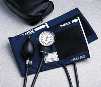 Aneroid Sphygmomanometer Pocket Hand Held 2-Tube Adult Arm (1/Each)