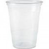 Cup Solo Ultra Clear 10 oz Cold Clear Plastic With Graduated Lines  (1000/Case)