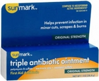 Triple Antibiotic Ointment Plus Pain Reliever  1/2 oz. (1/Each)