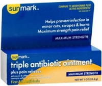 First Aid Antibiotic Sunmark 1 oz. Ointment (1/Each)