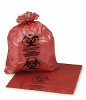 Infectious Waste Bag  ULTRA-TUFF 11 X 14 Inch Printed (50/Box)