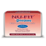 Nu-Fit Incontinent Brief Limited Mat Body Shaped - Case