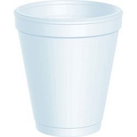 Small Foam Drink Cup 8 oz (1000/Case)