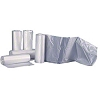 TRASH BAG MEDIUM DUTY CLEAR 10 GAL 8 MIC 24 X 24 INCH CORELESS ROLL (1000/CS)