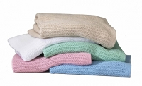Blanket, Therm, White, 66 X 90, 2.1LB, 100%C, 24E (1/Each)