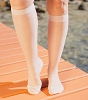 Extra Firm Sheer Knee High Stockings 20-30mmHg Large (1/Each)