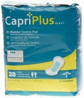 Capri Plus Bladder Control Pads (168/Case)