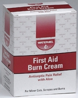 First Aid Burn Cream with Aloe (144/Box)