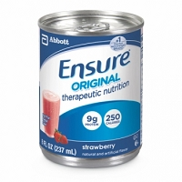 Ensure Nutritional Supplement Original Strawberry 8 Oz. Can (24/Case)