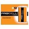 Procell by Duracell Alkaline D Cell Battery 1.5volts (12/box)