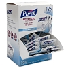 Purell Advanced Hand Sanitizer Fragrance Free 1.2mL Packets (125/Box)