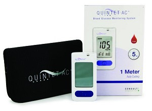 BLOOD GLUCOSE MONITORING SYSTEM QUINTET AC